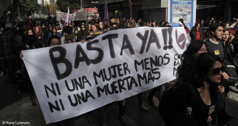 Alerta de Género: #NuncaMásSolas