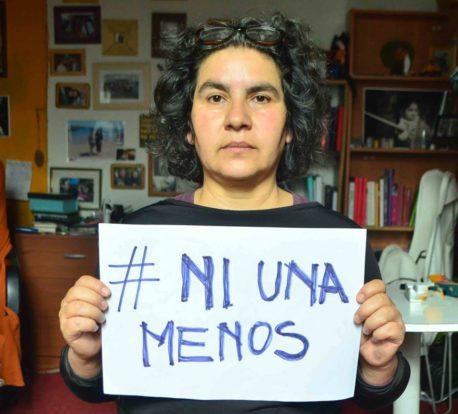 """Ximena Riffo y #NiUnaMenos: """"Esto no es contra los hombres, es a favor de nosotras"""""""