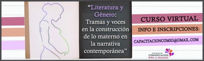 """Curso virtual """"Tramas y voces en la construcción de lo materno en la narrativa contemporánea"""""""