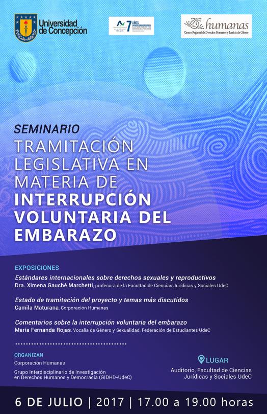 Seminario tramitación legislativa en materia de interrupción voluntaria del embarazo