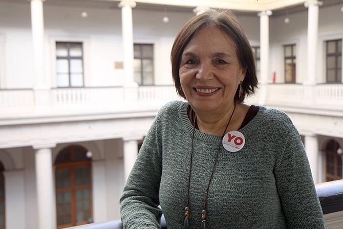 """Carmen Andrade y protocolo contra acoso sexual en la Universidad de Chile: """"Nos pusimos en los zapatos de las víctimas y les facilitamos el camino"""""""