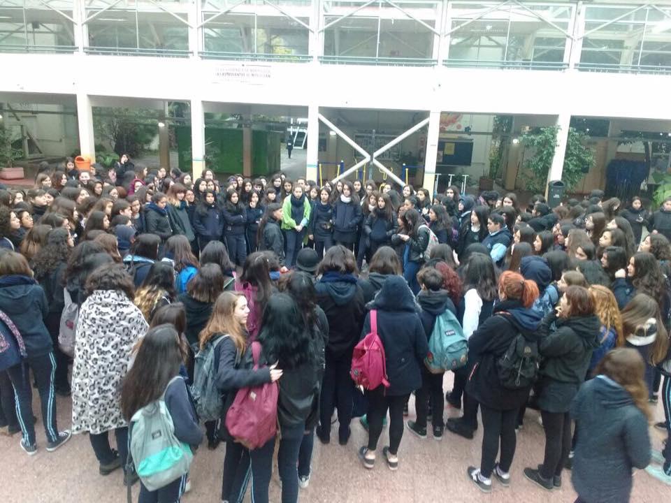 Acoso sexual en la sala de clases: La lucha de las alumnas del Liceo 7 de Providencia
