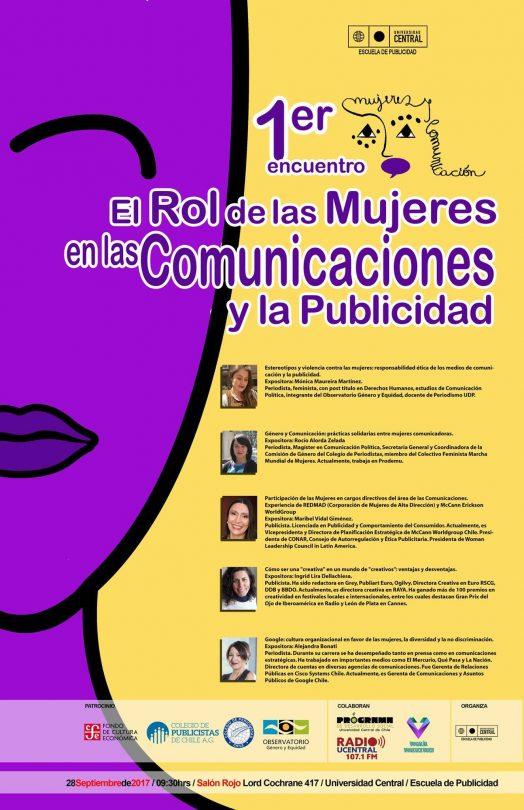Primer Encuentro el Rol de las Mujeres en las Comunicaciones y la Publicidad