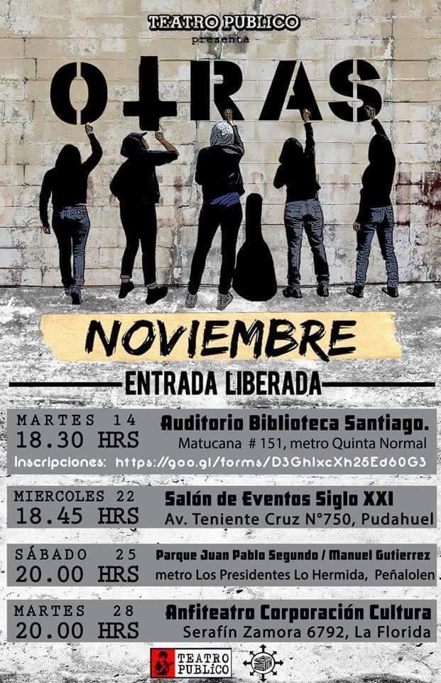 Teatro Público presenta OTRAS