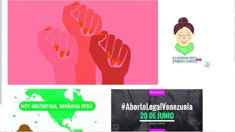 #lainternacionalfeminista La marea verde que arrasa el continente