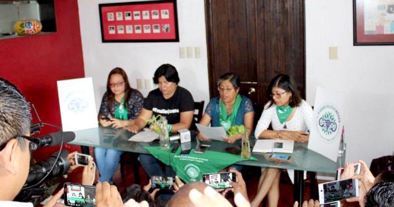 México: Anuncia Marea Verde Jornada por despenalización del aborto