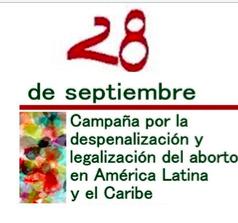 Un grito recorre América Latina y el Caribe  28 de septiembre, día por la despenalización y legalización del aborto