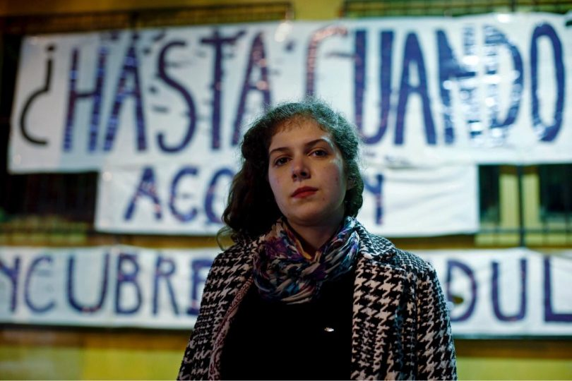 """Sofía Brito, vocera de Derecho de la Universidad de Chile: """"Es difícil pensar la política estudiantil sin el feminismo»"""