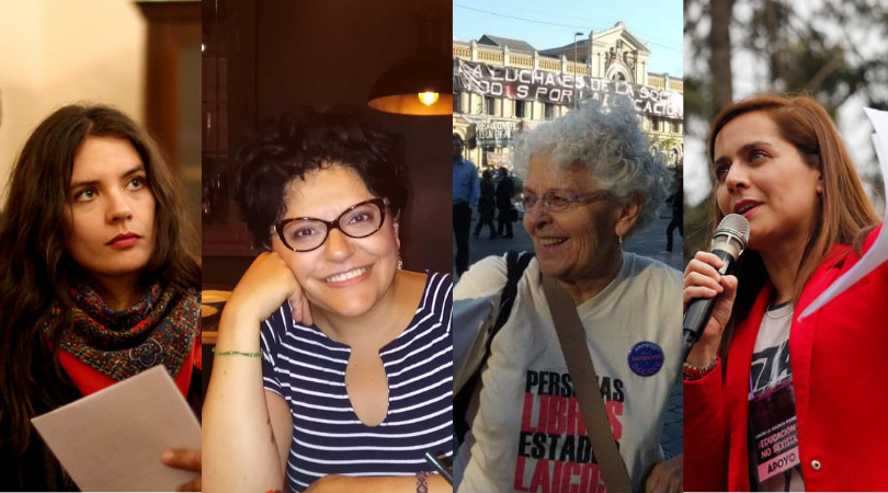 De Natalia Valdebenito a Camila Vallejo: 4 voces del feminismo relatan su lucha histórica